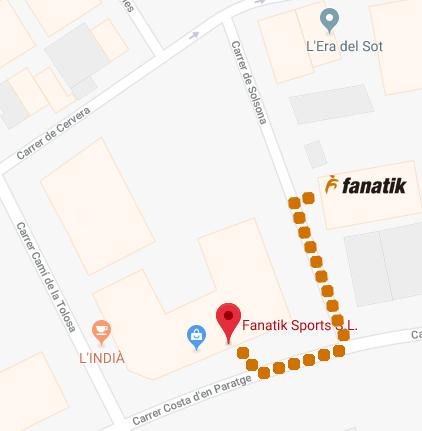 Fanatik es trasllada… a 150 metres!